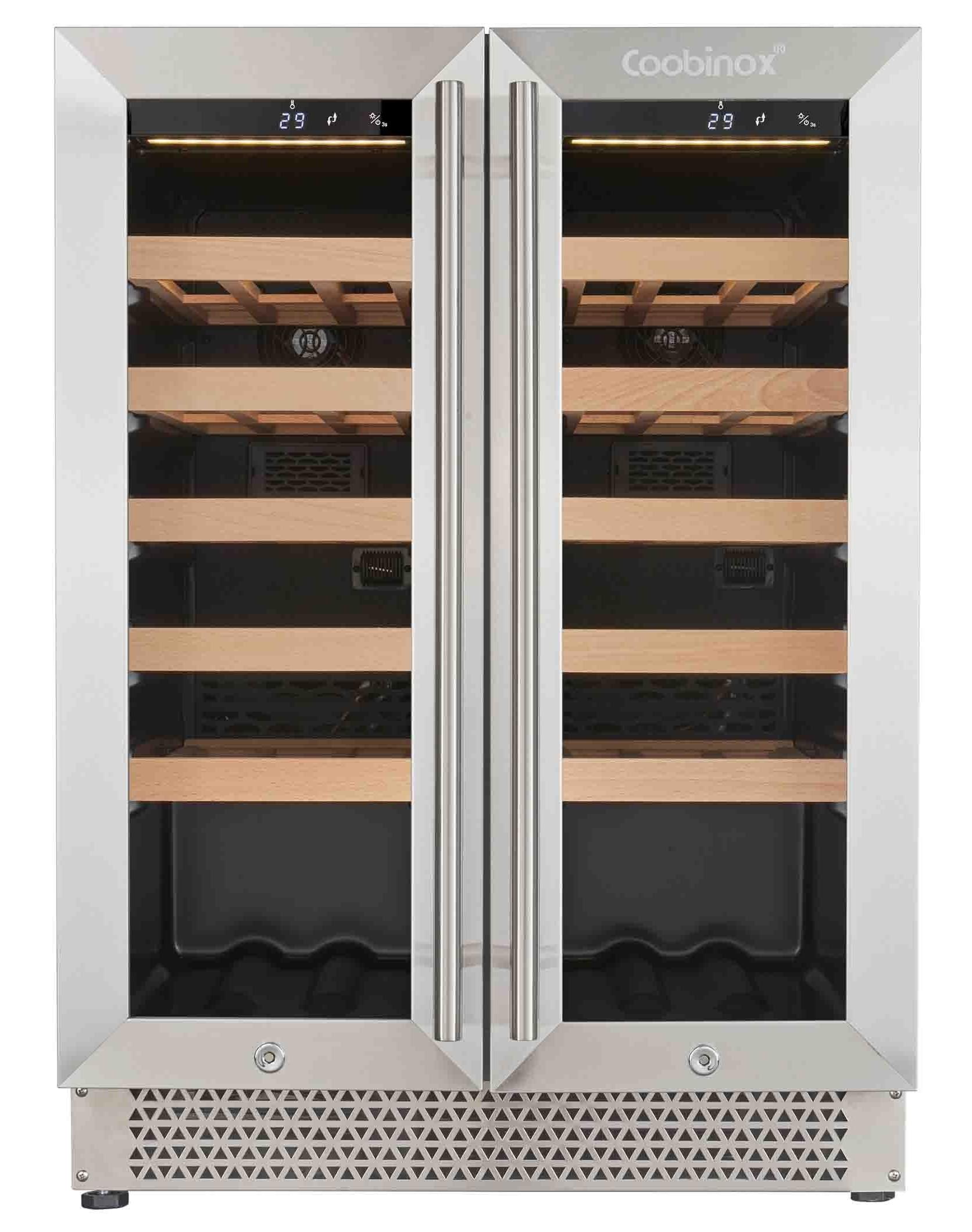 Weinkühlschrank VinPro 100L Weintemperierschrank Weinklimaschrank